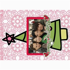 Xmas By Tammy   5  X 7  Photo Cards   O7m5jpg3qker   Www Artscow Com 7 x5  Photo Card - 18