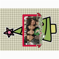 Xmas By Tammy   5  X 7  Photo Cards   O7m5jpg3qker   Www Artscow Com 7 x5  Photo Card - 19
