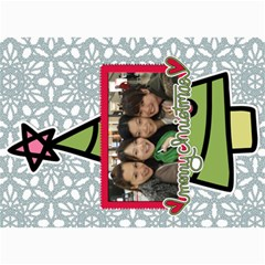Xmas By Tammy   5  X 7  Photo Cards   O7m5jpg3qker   Www Artscow Com 7 x5  Photo Card - 20