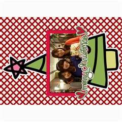 Xmas By Tammy   5  X 7  Photo Cards   O7m5jpg3qker   Www Artscow Com 7 x5  Photo Card - 22