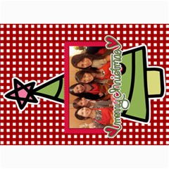 Xmas By Tammy   5  X 7  Photo Cards   O7m5jpg3qker   Www Artscow Com 7 x5  Photo Card - 24