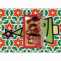 Xmas By Tammy   5  X 7  Photo Cards   O7m5jpg3qker   Www Artscow Com 7 x5  Photo Card - 28