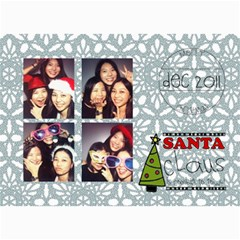 Xmas By Tammy   5  X 7  Photo Cards   O7m5jpg3qker   Www Artscow Com 7 x5  Photo Card - 31