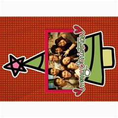 Xmas By Tammy   5  X 7  Photo Cards   O7m5jpg3qker   Www Artscow Com 7 x5  Photo Card - 8