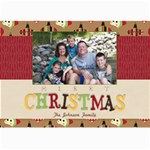 Merry Christmas 5x7 - 5  x 7  Photo Cards
