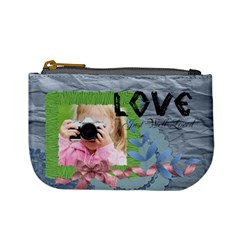 Love By Joely   Mini Coin Purse   D0kqh0nxaxwn   Www Artscow Com Front