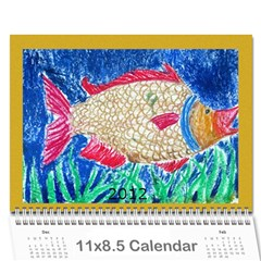 2012 Calendar by Jiji Li Cover