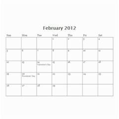 Christmas Calendar By Tina Rosamond   Wall Calendar 8 5  X 6    711jhpth90q9   Www Artscow Com Feb 2012