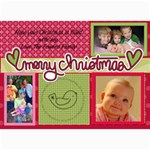 2011 christmascard - 5  x 7  Photo Cards