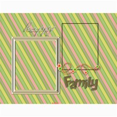 2015 Happy Family 11x8 5 By Angel   Wall Calendar 11  X 8 5  (12 Months)   S1bd2i2uu4mp   Www Artscow Com Month