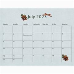 Wall Calendar 11 X 8 5:  Thankful For By Jennyl   Wall Calendar 11  X 8 5  (12 Months)   9llv20wey6do   Www Artscow Com Jul 2016