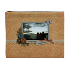 Cosmetic Bag (xl): Cherished Memories By Jennyl   Cosmetic Bag (xl)   1z4oiboybd8q   Www Artscow Com Front