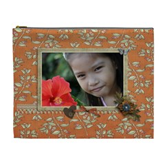 Cosmetic Bag (xl): Thankful 5 By Jennyl   Cosmetic Bag (xl)   Fav32bb65t90   Www Artscow Com Front