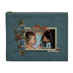 Cosmetic Bag (xl): Thankful 9 By Jennyl   Cosmetic Bag (xl)   Gxp4wpres2fg   Www Artscow Com Front