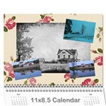 2012 calendar for christmas - Wall Calendar 11  x 8.5  (12-Months)
