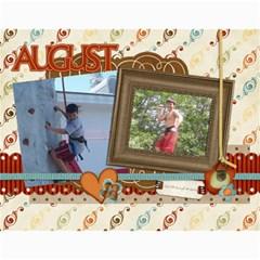 Calendar By Lenette   Wall Calendar 11  X 8 5  (12 Months)   Ja3cthuaplvu   Www Artscow Com Month