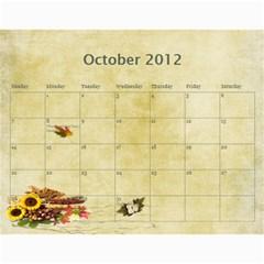 2011 Calendar By Quyen Hue Huynh   Wall Calendar 11  X 8 5  (12 Months)   Ps836pp1sfyi   Www Artscow Com Oct 2012