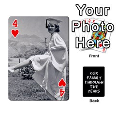Playing Cards   Tony By Lynda Richardson   Playing Cards 54 Designs   7tjsqaeamn6o   Www Artscow Com Front - Heart4