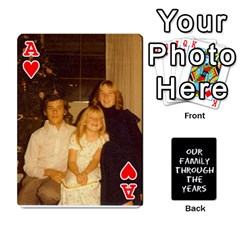 Ace Playing Cards   Tony By Lynda Richardson   Playing Cards 54 Designs   7tjsqaeamn6o   Www Artscow Com Front - HeartA