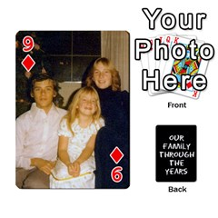 Playing Cards   Tony By Lynda Richardson   Playing Cards 54 Designs   7tjsqaeamn6o   Www Artscow Com Front - Diamond9