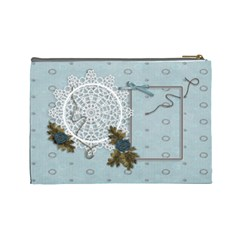 Large Cosmetic Bag: Thankful3 By Jennyl   Cosmetic Bag (large)   2mcn4ifqzeod   Www Artscow Com Back