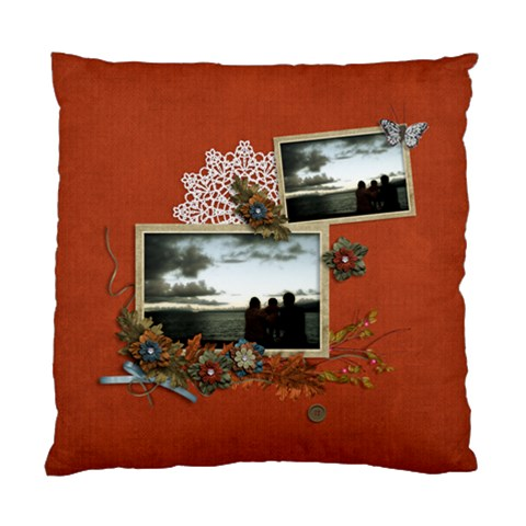 Cushion Case (one Side): Thankful By Jennyl   Standard Cushion Case (one Side)   7zwang71zzav   Www Artscow Com Front