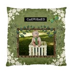 Cherished Cushion Case (1 Sided) - Standard Cushion Case (One Side)