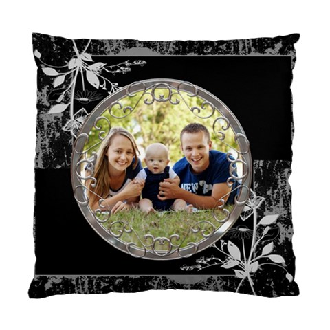 Pretty Black Cushion Case (1 Sided) By Lil    Standard Cushion Case (one Side)   Dqeyvc7q6f3q   Www Artscow Com Front