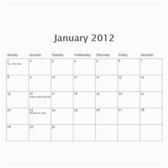 2012 Mom Calendar By Ac   Wall Calendar 11  X 8 5  (12 Months)   80ut5xxcowbx   Www Artscow Com Jan 2012