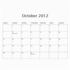 2012 Mom Calendar By Ac   Wall Calendar 11  X 8 5  (12 Months)   80ut5xxcowbx   Www Artscow Com Oct 2012