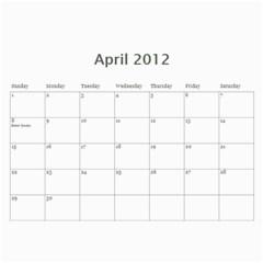 2012 Mom Calendar By Ac   Wall Calendar 11  X 8 5  (12 Months)   80ut5xxcowbx   Www Artscow Com Apr 2012