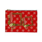 Christmas cosmetic bag (L) - Cosmetic Bag (Large)