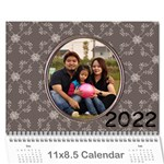 Happy Family 11x8.5 - you - Wall Calendar 11 x 8.5 (12-Months)