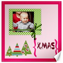 Christmas By Joely   Canvas 12  X 12    K2xsl9ia92ck   Www Artscow Com 12 x12 Canvas - 4