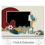 Calender 2012 - Wall Calendar 11  x 8.5  (12-Months)