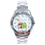 christmas - Stainless Steel Analogue Men's Watch