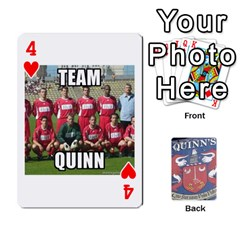 Cards For Quinns By Will   Playing Cards 54 Designs   Ybw02uaft441   Www Artscow Com Front - Heart4