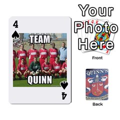 Cards For Quinns By Will   Playing Cards 54 Designs   Ybw02uaft441   Www Artscow Com Front - Spade4
