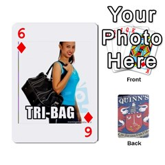 Cards For Quinns By Will   Playing Cards 54 Designs   Ybw02uaft441   Www Artscow Com Front - Diamond6