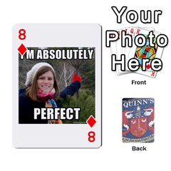 Cards For Quinns By Will   Playing Cards 54 Designs   Ybw02uaft441   Www Artscow Com Front - Diamond8