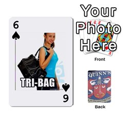 Cards For Quinns By Will   Playing Cards 54 Designs   Ybw02uaft441   Www Artscow Com Front - Spade6