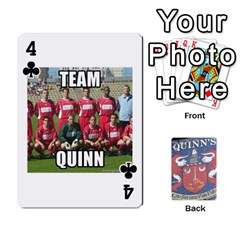 Cards For Quinns By Will   Playing Cards 54 Designs   Ybw02uaft441   Www Artscow Com Front - Club4
