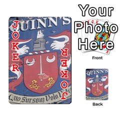 Cards For Quinns By Will   Playing Cards 54 Designs   Ybw02uaft441   Www Artscow Com Front - Joker2