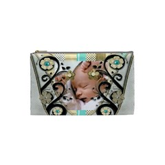Baby Bella Mini Coin Purse By Amarie   Cosmetic Bag (small)   Epu8bfoynkbz   Www Artscow Com Front