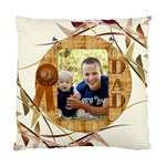 Number One Dad Cushion Case (1 Sided) - Cushion Case (One Side)