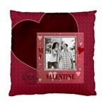 My Valentine Cushion Case (1 Sided) - Cushion Case (One Side)