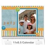 Calendario Jorge - Wall Calendar 11  x 8.5  (12-Months)