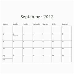 Calendario Jorge By Edna   Wall Calendar 11  X 8 5  (12 Months)   0uimap4t7d9x   Www Artscow Com Sep 2012
