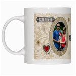 Live Love Laugh Mug - White Mug