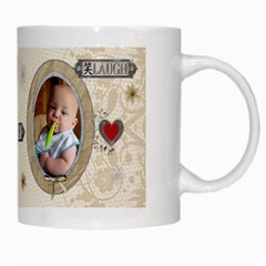 Live Love Laugh Mug By Lil    White Mug   4bhulux88c1m   Www Artscow Com Right